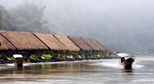 River Kwai Tour - Jungle Rafts : 2 Days / 1 Night (Joining Tour) Thumbnail Picture